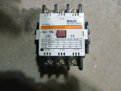 Fuji Electric magnetic contactor # SC1N  220V coil