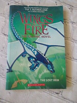The Lost Heir (Wings of Fire Graphic Novel) Paperback - Book 2