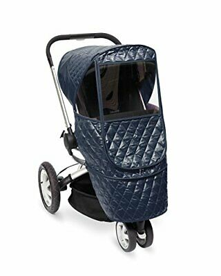 Manito Castle Beta Baby Stroller Weather Shield Rain Snow Winter Cover, Navy