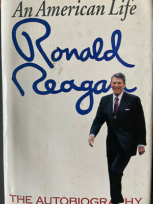 President Ronald Reagan Hand Signed Book With COA