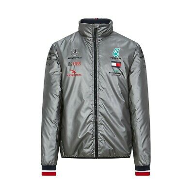 Mercedes AMG Petronas Motorsport Men's Team Lightweight Padded Jacket - 2020