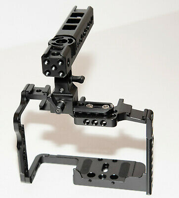 SMALLRIG Camera Cage with Handle for Panasonic Lumix GH5 / G9