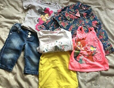 Girls -2 year Bundle, Next Summer, Denim jacket, vest, Tesco