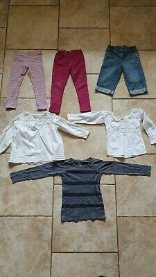 Girls clothes- 4 - 5 y - bundle - 6 items