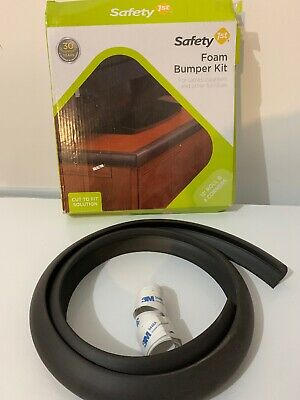 """Safety 1st 5 Piece Foam Bumper Kit Partial Roll  48"""" Plus Extra Tape"""