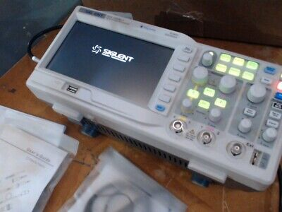 """Siglent SDS1052DL Dual-Channel Digital Oscilloscope 50MHz with 7"""" Display"""
