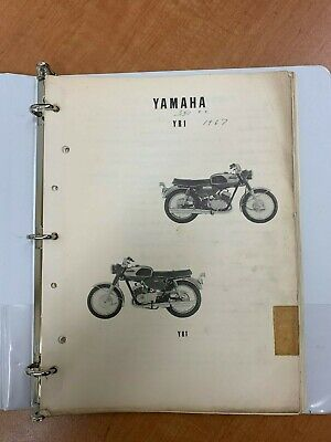 1967 Yamaha YR1 parts list manual