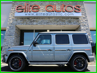 2020 Mercedes-Benz AMG G 63 G63 AMG Designo Platinum Magno MATTE PAINT Loaded 2020 Mercedes G63 G 63 AMG Factory MATTE PAINT Loaded with Delivery miles