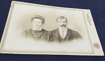 Victorian Photograph Of A Couple.....