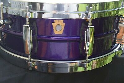Vintage Ludwig Supraphonic Purple Snare Drum NO RESERVE!!!!!!!!!!!!!!!!!!!!!!!!!