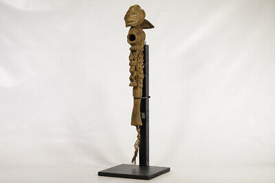 """Hand-Carved Dogon Adze 22.5"""" - Mali - African Art"""