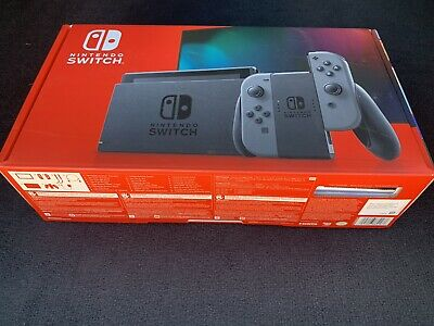 Nintendo Switch HAC-001(-01) 32GB Console with Gray Joy‑Con Ships Immediately
