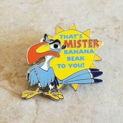 Pin Trading Disney Pins Zazu from Lion King That's Mister Banana Beak To You