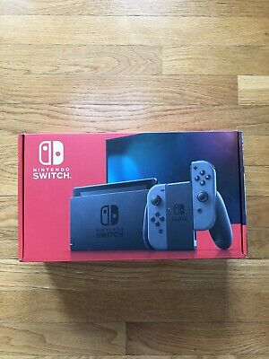 Nintendo Switch 32gb Gray Console with Joy-Con Controller V2 Brand New IN HAND