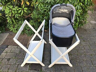 Uppababy Carrycot Stand, White - Excellent condition