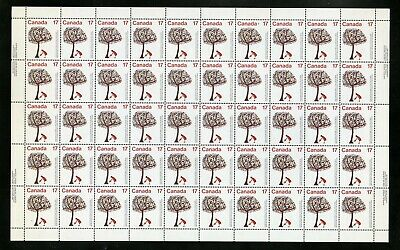 CANADA SHEET - Scott 842 - NH - inscription - 17¢ Year of the Child (.009)