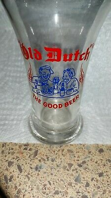 Vintage Old Dutch Beer Catasauqua PA The Good Beer Glass Great Graphics