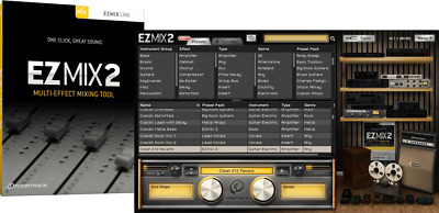 Toontrack - Ez Mix 2 - License Serial - Digital Delivery