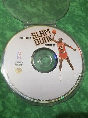 1988 Gatorade NBA Slam Dunk Contest Dvd Michael Jordan The Last Dance Chicago...