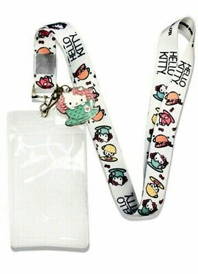 Hello Kitty in the Teacup Sanrio New Lanyard & ID Badge Holder & Charm Fashion