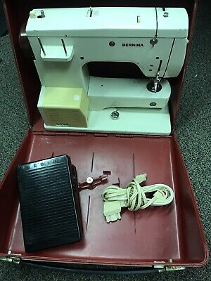 Bernina 807 Minimatic Sewing Machine AS IS FOR PARTS OR REPAIR