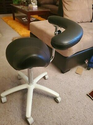 Galaxy 2085 Waterfall Saddle Dental Hygienist Assistant's Chair