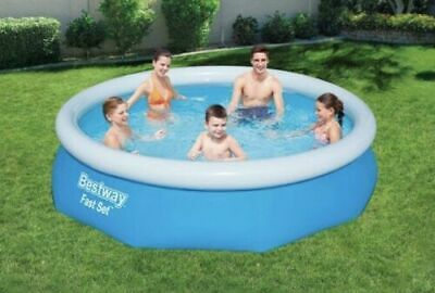 BestWay 10ft x 30inch Fast Set Above Ground Swimming Pool 🔥