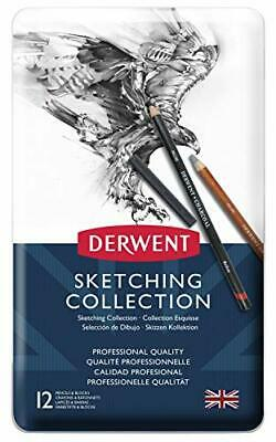 Derwent Sketching Collection Metal Tin 12 Count 34305