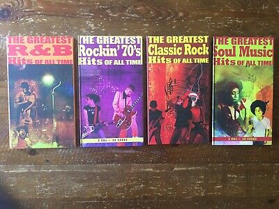 The Greatest Hits Of All Time. Soul Music, R&B, Classic Rock & Rockin' 70's.