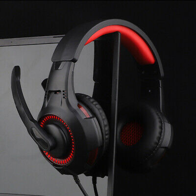 3.5mm Gaming Headset Mic LED Headphones Stereo Surround for PC PS4 PRO Xbox ONE#
