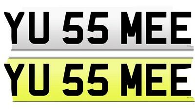 Private number plate. You See Me