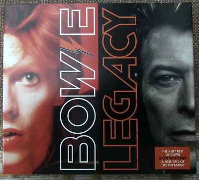 David Bowie - Legacy - 2 X CD Album - DB64162 - 2016