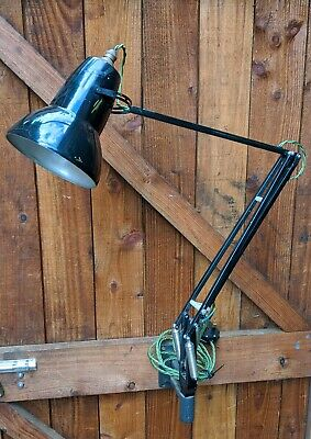 Vintage HERBERT TERRY 1227 Anglepoise Lamp (Rare Wall mount)