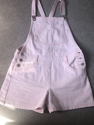 Girls Pink Short Dungarees From Next Age 12