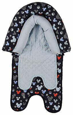 Disney Mickey Mouse Baby Boys Infant Head Support for Car Seats, Strollers