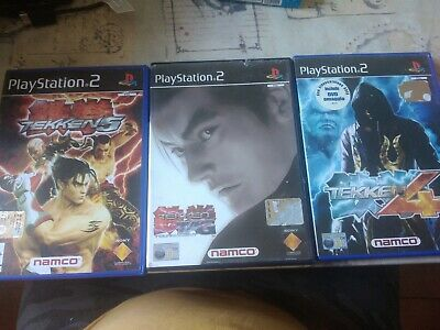 Lotto Tekken trilogia Ps2 Pal Ita