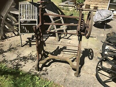 Old Cast Iron Mangle