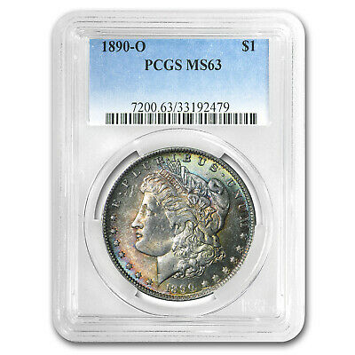 1890-O Morgan Dollar MS-63 PCGS (Toned) - SKU#25553