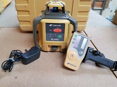 Topcon RL-H4C Rotating Laser Level - 12 month calibration - Rechargeable