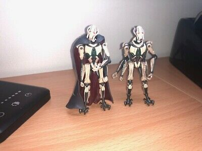 Star Wars The Clone Wars General Grievous x 2 figures