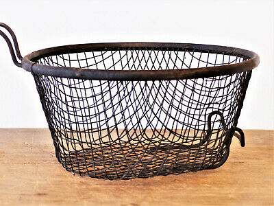 ANTIQUE Old VINTAGE Fryer WIRE BASKET ONLY Griswold Wagner Cast Iron Cookware #2