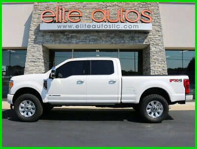 2019 Ford F-250 F-250 Navigation SURROUND CAMERA Massage 2019 Ford F250 PLATINUM Crew Cab Diesel 4wd Short Bed LOADED Lift 37 inch Tires
