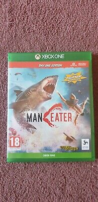 Maneater Day One Edition Xbox One Mint