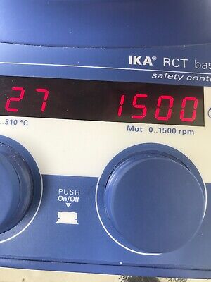 Ika Works, 3810001 RCT Basic Safety Magnetic Stirrer with Heating
