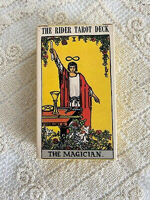 Vintage 1971 RIDER TAROT DECK- 78 Cards by Arthur Edward Waite, w/ Instructions