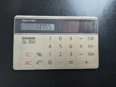 Vintage Casio Calculator