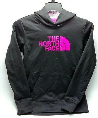 The North Face Womens Jacket Small S/P Black Pink Pullover