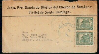 Mayfairstamps Dominican Republic Music Band of Civil Fire Fighters Cover wwe_907
