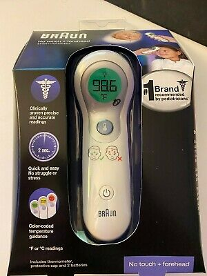 *SHIPS TODAY & IN HAND* Braun No Touch Forehead Family Thermometer NTF3000