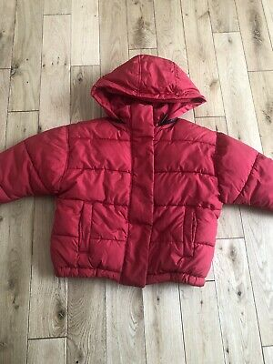 Girls Next Red Padded Jacket Age 5 Years